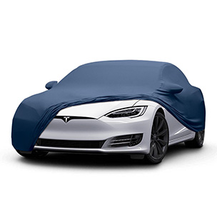 Soft-Feeling Elastic Car Cover For Indoor Use only