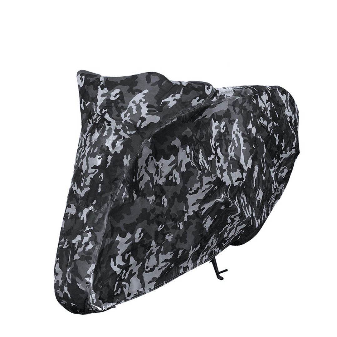 Camouflage Printed Durbale Outdoor Motorcycle Cover